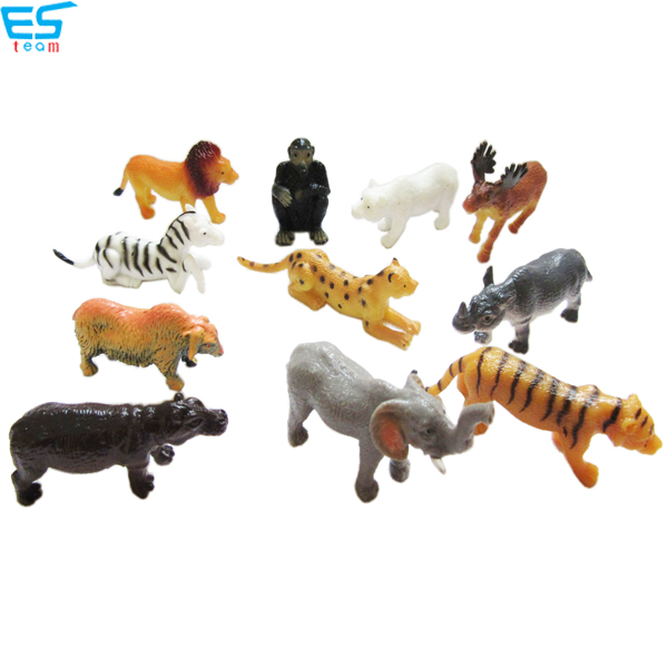 2.5inch TPR wild animal figurine