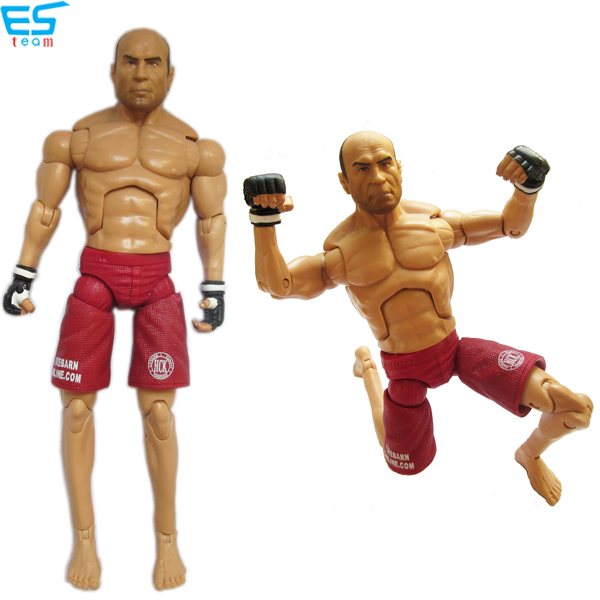 UFC player action figurine