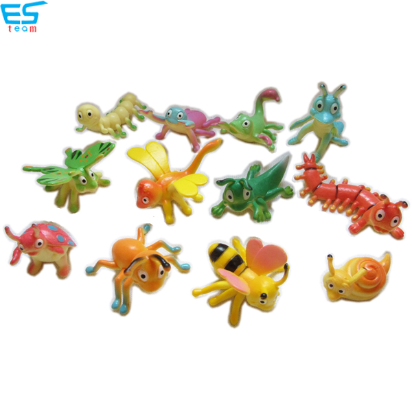 2inch-3inch funny cartoon insect figurines