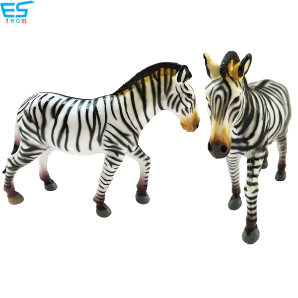 high simulation zebra figurine