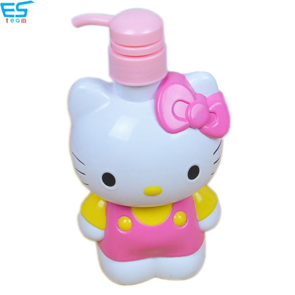cartoon hello kitty lotion bottle