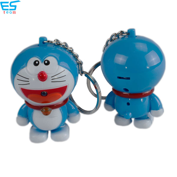 pokonyan LED keychain with sound