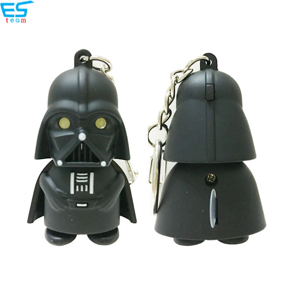 Star wars Darth Vader LED keychain with sound