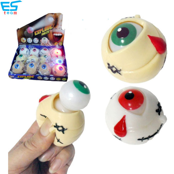 light up &  squeeze pop out eyeball